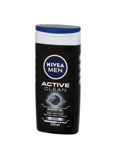 Nivea Nıvea Men Duş Jeli Actıve Clean Aktif Karbon 250 Ml Renksiz